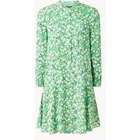 Whistles Mini blousejurk met bloemenprint