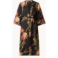 ALLSAINTS Carine Nolina kimono in zijdeblend met bloemenprint