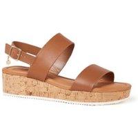 Dune London 511 Lenniie sandaal van leer