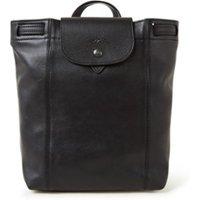 Longchamp Le Pliage Cuir rugzak van leer