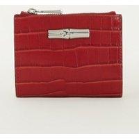 Longchamp Roseau portemonnee van kalfsleer