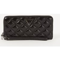 GUESS Cessily Large quilted portemonee met lak finish