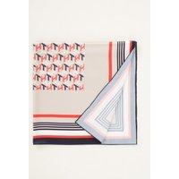 Tommy Hilfiger Sjaal van satijn met logoprint 70 x 70 cm