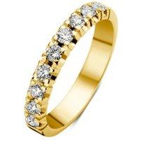 Diamond Point Alliance groeibriljant ring met 18 karaat geelgoud, 0-45 ct- 0-45 ct diamant