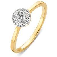 Diamond Point Gouden ring 0-30 ct diamant Hearts & Arrows