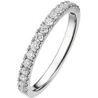 Diamond Point Witgouden ring 0-26 ct diamant Wedding