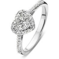 Diamond Point Witgouden ring 0-37 ct diamant Enchanted