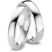 Diamond Point Witgouden trouwring heren