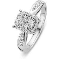 Diamond Point Witgouden ring 0-34 ct diamant Enchanted