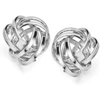 Casa Jewelry Knoopje oorknopjes van zilver