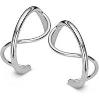 Casa Jewelry Sputnik Wire oorstekers van zilver