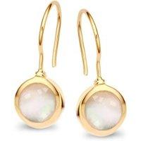 Casa Jewelry Pom oorhangers met parel