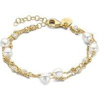 Casa Jewelry Pruts Pearls Duo armband verguld