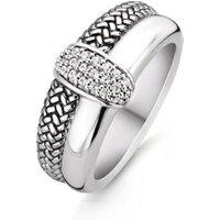 TI SENTO - Milano Ring van zilver met zirkonia 12153ZI