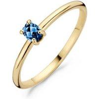 Blush Ring van 14k geelgoud met topaas 1204YLB