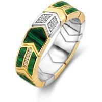 TI SENTO - Milano Ring verguld met stenen 12202MA