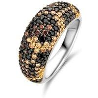 TI SENTO - Milano Ring van zilver met stenen 12214TU