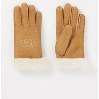 UGG Handschoenen van suède met schapenvacht