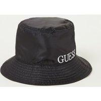 GUESS Bucket hoed met logoborduring