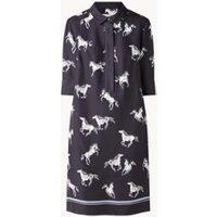 Hobbs Marciella mini blousejurk met print