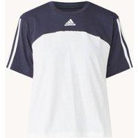 adidas Trainings T-shirt met logoprint