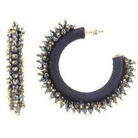 LOTT- gioielli Urchin statement oorbellen verguld