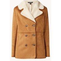 Ralph Lauren Lammy coat van imitatieschapenvacht met steekzakken