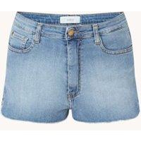 ba&sh Luego high waist straight fit korte spijkerbroek met stretch
