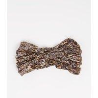 ba&sh Hurban haarband in zijdeblend met camouflageprint