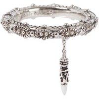 ba&sh Juju ring van zilver met hanger