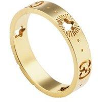Gucci Icon ring van 18 karaat geelgoud
