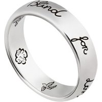 Gucci Blind for Love ring van zilver