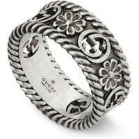 Gucci Interlocking G ring van zilver