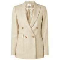 Reiss Larsson double-breasted blazer in wolblend