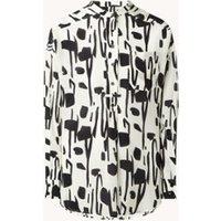 Ted Baker Mamther blouse van zijde met print