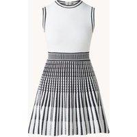 Ted Baker Eastyn mini A-lijn jurk met print en plooien