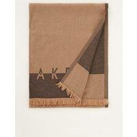 Ted Baker Esteli sjaal met gerafelde zoom en logo 180 x 70 cm