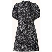 Ted Baker Raayy A-lijn mini jurk met dierenprint en pofmouw