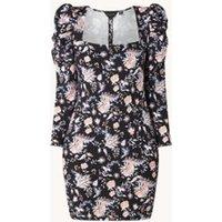 Ted Baker Dracena mini jurk met bloemenprint en pofmouw