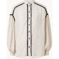Ted Baker Oldham blouse met ballonmouw en print