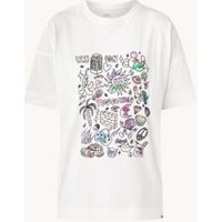 Ted Baker Cliften T-shirt met print