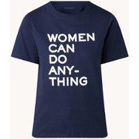Zadig&Voltaire Bella T-shirt van biologisch katoen met tekstprint