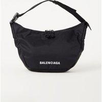 Balenciaga Wheel Sling schoudertas met logoborduring