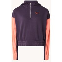 Nike Icon Clash cropped sweater met capuchon