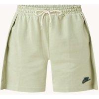 Nike High waist loose fit korte joggingbroek met plooien