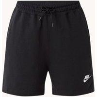 Nike High waist loose fit korte joggingbroek met logoborduring