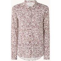 Samsøe & Samsøe Milly blouse met bloemenprint en borstzakken