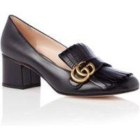 Gucci Mid-heel pump met Double G detail