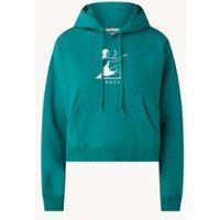 Obey Offering hoodie met logo en borduring
