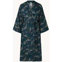 Hanro Celia kimono met print